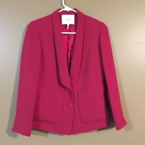 Maje Pink Magenta Blazer Jacket with buttons 36 s